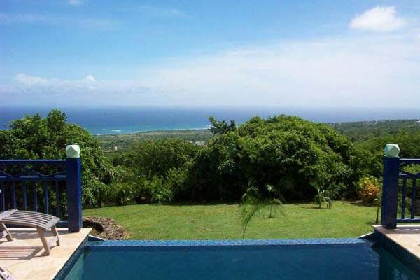 Enjoy Caribbean Sea views, located 1200 feet above sea level on a mountainside. KL WHI - Image 1 - Saint Kitts and Nevis - rentals