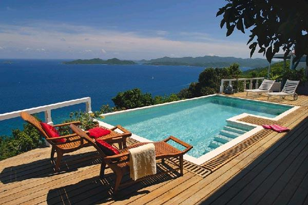 Unforgettable blue ocean views abound from this exquisite villa. MAT TOA - Image 1 - Road Town - rentals