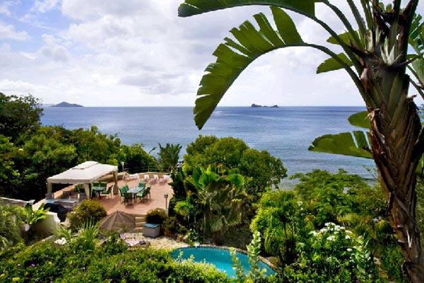 Unique home, perched above Nail Bay Beach. Expansive ocean view. MAV SUN - Image 1 - Saint Croix - rentals