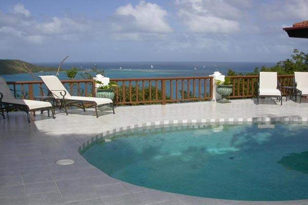 A honeymooner's favorite with privacy and views, this villa can accommodate 4 people. VG VDM - Image 1 - Leverick Bay - rentals