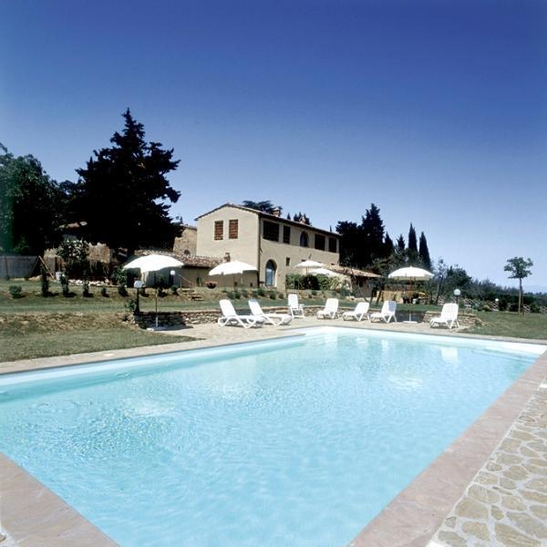 Farmhouse Rental in Tuscany, Tavarnelle in val di Pesa - Casa della Fioraia - Image 1 - Tavarnelle Val di Pesa - rentals