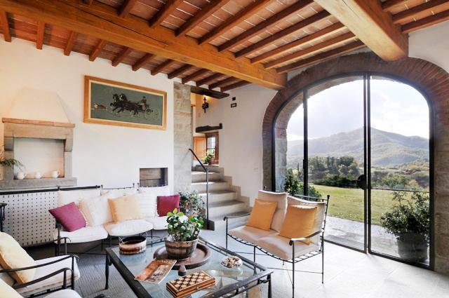 Tuscany Farmhouse with Pool and Views, Great for Family or Friends - Casa Santa Mama - Image 1 - Arezzo - rentals