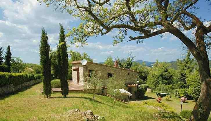 Villa Rental in Tuscany, Lecchi - Chiantigiana Minore - Image 1 - Gaiole in Chianti - rentals