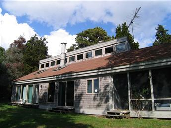 Back of house overlooking Pleasant Bay - East Orleans Vacation Rental (18583) - Orleans - rentals