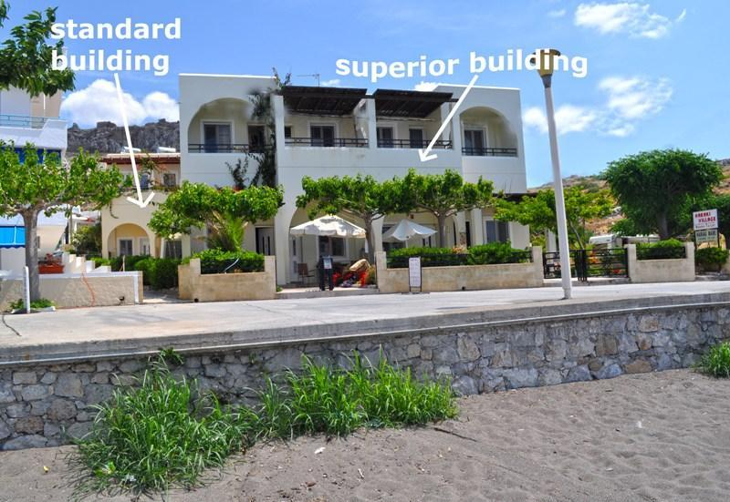 Superior and standard buildings - Haraki Mare Studios & Apartments - Rhodes - rentals
