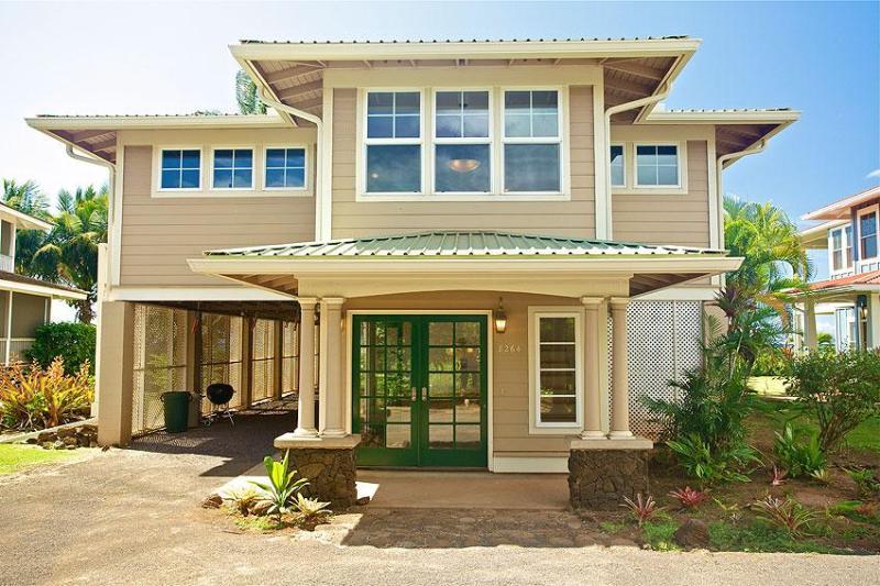 Hale Hihio, Kekaha, Front View - Hale Hihio - Ocean View Vacation Home - Kekaha - rentals