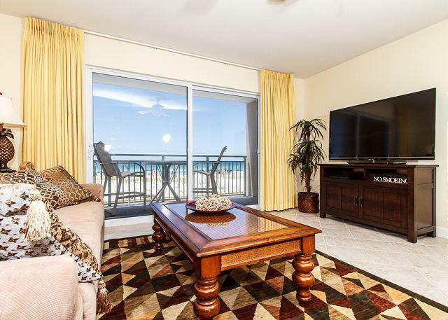 Beautiful new (as of APRIL 2013) furniture is found throughout t - PI 117:Nicely UPDATED beachfront condo-Gulf view,Pool, Free Beach Service - Fort Walton Beach - rentals