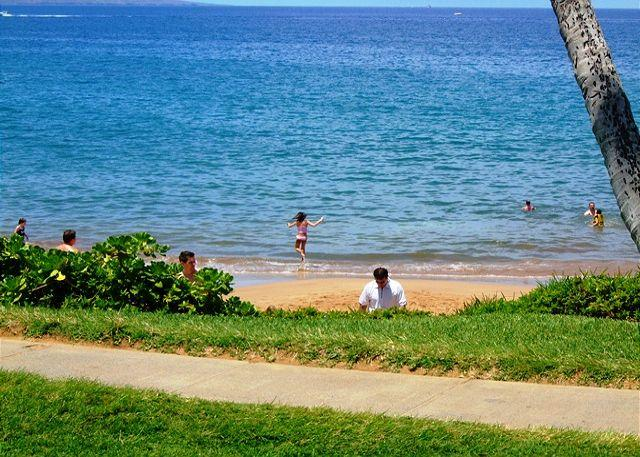 Wailea Beach Path - In front of Complex - Wailea Elua #2108 Gorgeous Unit - Ocean View - Wailea - rentals