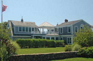 1554 - ELEGANT BEACH HOUSE WITH VIEWS OF KATAMA BAY - Image 1 - Edgartown - rentals