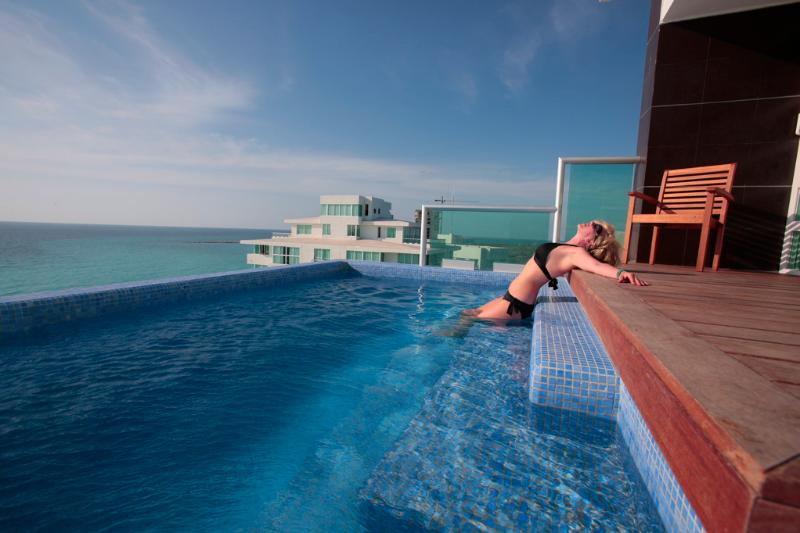 The Heated Private Infinity Pool - #2000 - 2 Private Pools, Best Penthouse in Cancun! - Cancun - rentals