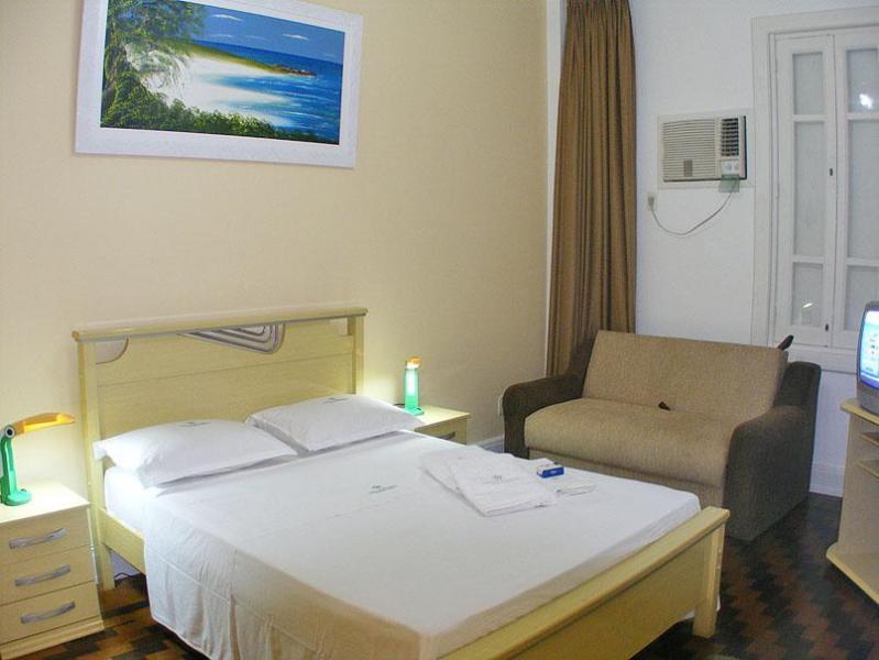 Main bedroom with sofa bed - Riocoparentals 2 bed Apartment BRL320 Pr nt - Rio de Janeiro - rentals