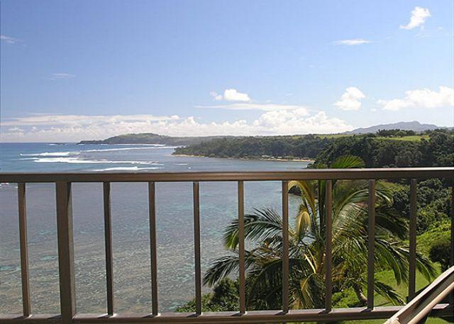 Sealodge D8: Top floor, very private 1br/1ba, oceanfront and Bali Hai views - Image 1 - Princeville - rentals