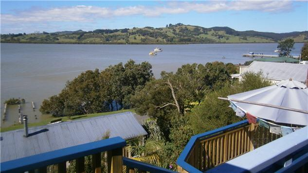 harbour/village view - Galleria Bed and Breakfast Boutique acommodation - New Zealand - rentals