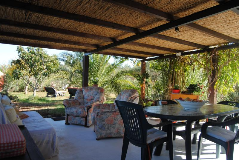 the big veranda - Private Villa near Iglesias- max 6 people - Sardinia - rentals