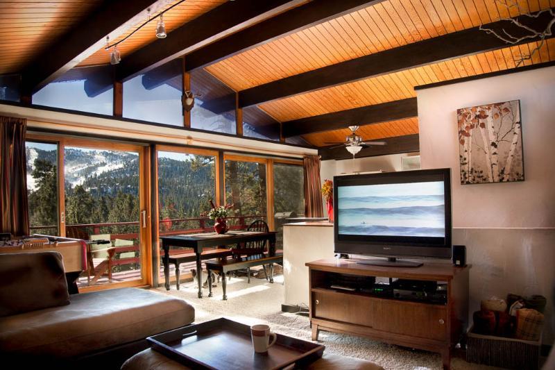 panoramic slope views! - Treehaus Chalet with Panoramic Mtn Views - Big Bear Lake - rentals