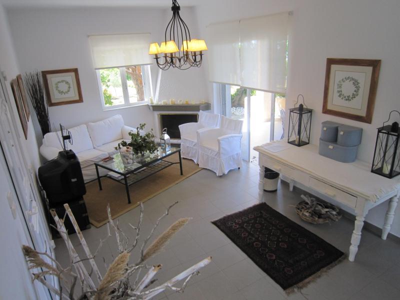 sitting room - Luxury seafront villa with panoramic sea view - Kalamata - rentals