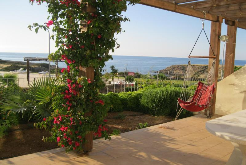 Back terrace view - WOW FACTOR!.. Large Sea Apartment ,Great prices - Kyrenia - rentals