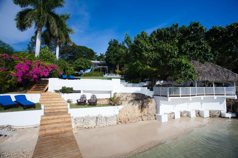 Villa view from the sea - Award-winning villa with private beach and pool - Whitehouse - rentals