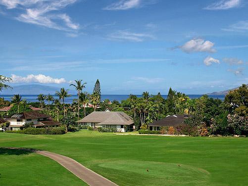 As soon as you walk in, the ocean view immediately beckons. - Luxurious Grand Champions #162 -- Ocean View! - Wailea - rentals