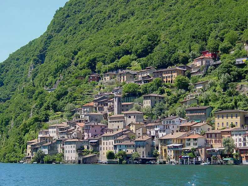 Gandria - 4 km from the very center of Lugano - Casa Parrucchiere in Gandria (Lugano, Switzerland) - Gandria - rentals