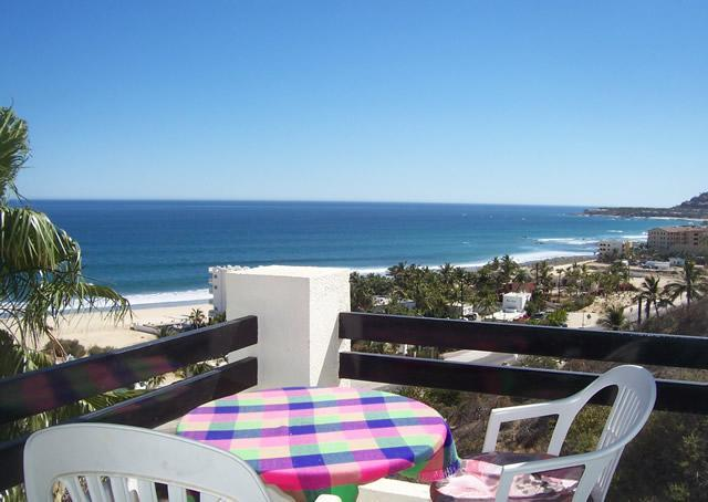 patio table view - Stunning Ocean View - 2 Bdrm- San Jose del Cabo - San Jose Del Cabo - rentals