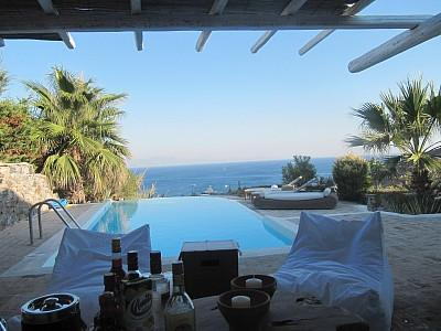 private pool and sea view - MYKONOS VILLA- PRIVATE POOL AND FANTASTIC VIEW - Mykonos - rentals
