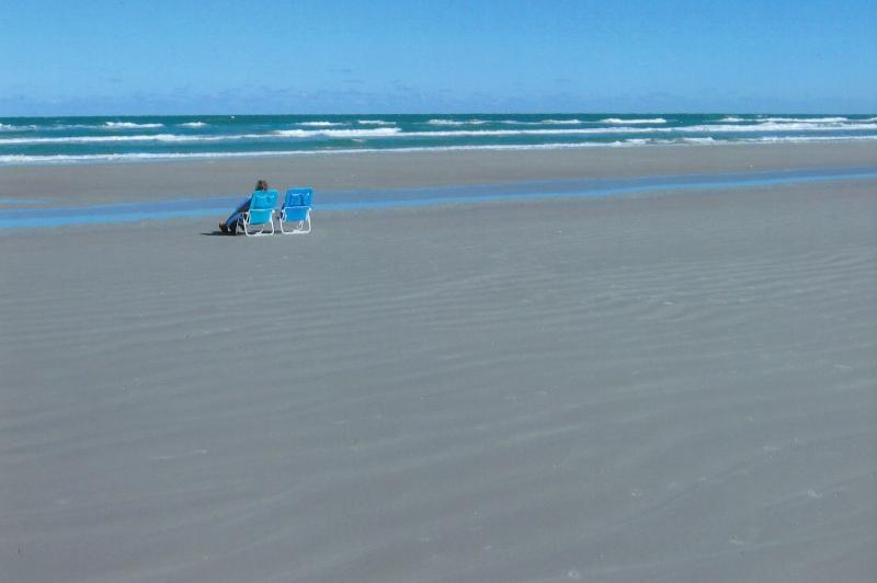 beach across street from condo - Luxury Beachside Townhouse Condo - New Smyrna Beach - rentals
