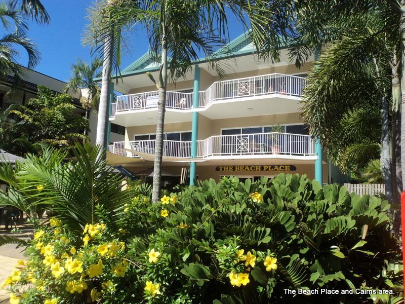 The Beach Place Front - Yorkeys Knob Beachfront Apartments  Queensland. - Queensland - rentals
