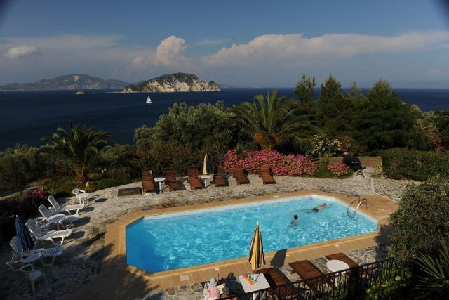 THE SCENIC SEA WATER POOL - VILLAS FLISVOS WITH POOL PRIVATE ACCESS TO THE SEA - Zakynthos - rentals