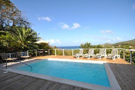 Dragonfly - Spacious villa boasts stunning views, pool & privacy - Image 1 - Cane Bay - rentals