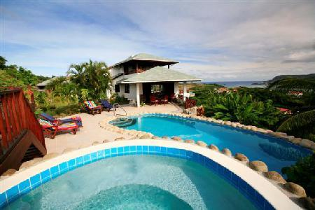 Villa Cadasse - Hilltop villa with spectacular views, pool & Jacuzzi - Image 1 - Cap Estate - rentals