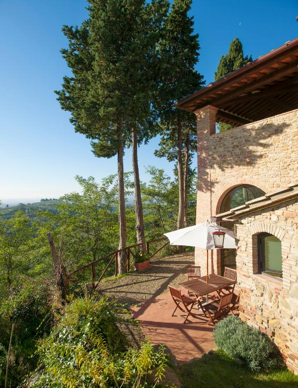 garden stillo - Stillo House Self Catering Apt at Paluffo Estate in Tuscany - Certaldo - rentals