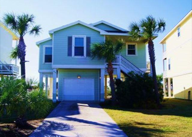 Stunning 3 bedroom, 2 bath beachside cottage located in Pointe West Resort. - Image 1 - Galveston - rentals