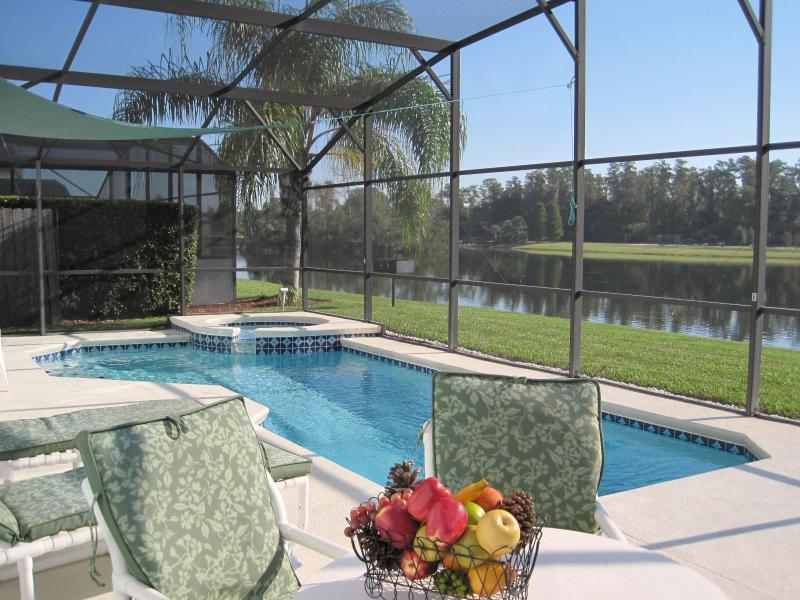 Fabulous pool n 24/7 spa and 14 acre lake - Luxury Lake Berkley 10min Disney gym-wifi-sat nav - Kissimmee - rentals