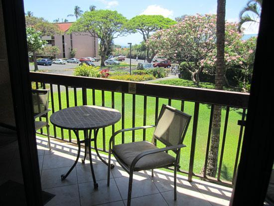 Lanai with partial ocean view - Partial Ocean View at Maui Vista and Kamaole Beach - Kihei - rentals