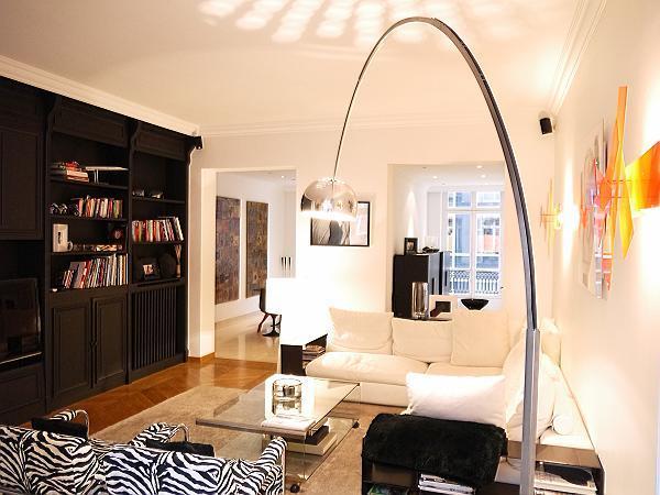 Living Room - Fantastic Luxury Apartment at Champs Elysees Boetie - Paris - rentals