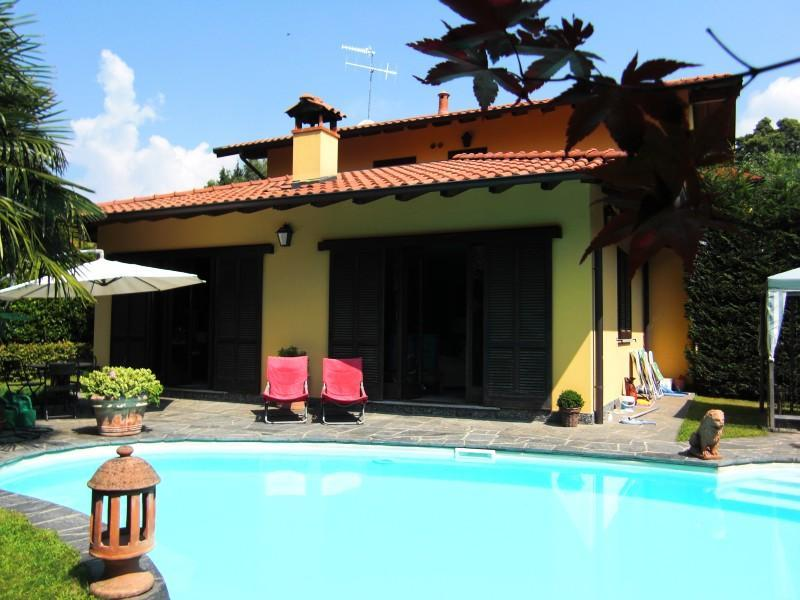 rent villa with private pool for a relaxing vacation in Verbania at Lake Maggiore - Enchanting villa with private pool - Verbania - rentals