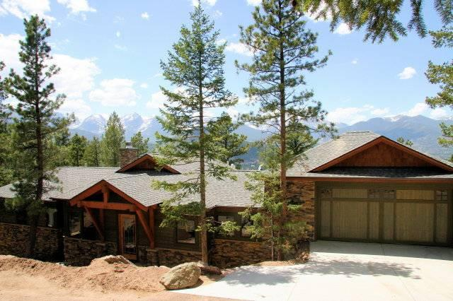 Aspen Leaf Chalet at Windcliff: Luxury Home in Estes Park with Panoramic Views! - Image 1 - Estes Park - rentals