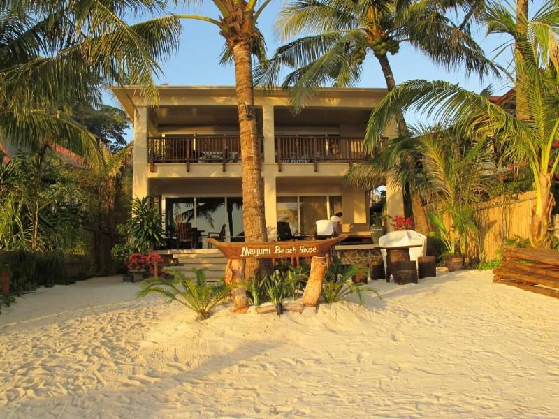 Facade - Day Time - Mayumi Beach House Ground - Boracay - rentals