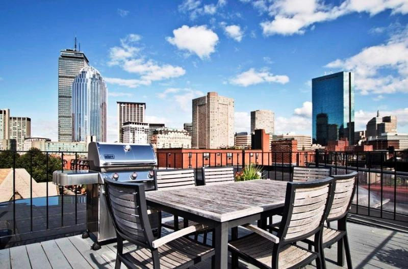 The Boston Christopher - One Bedroom Suite with Roof Deck in South End - Boston - rentals