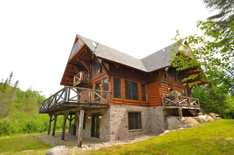 Exterior - March Specials 5 bdr Log cabin Mont Tremblant - Mont Tremblant - rentals
