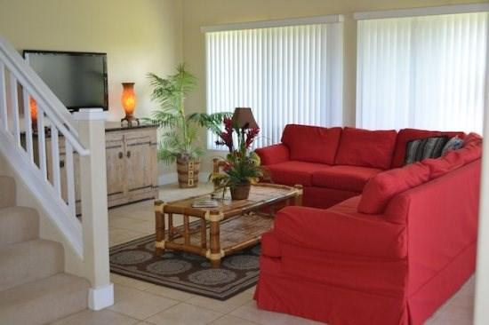 living room  - Free car with Regency 824 central AC, 4 bed, 3bth-great for large groups-short walk to beach - Poipu - rentals