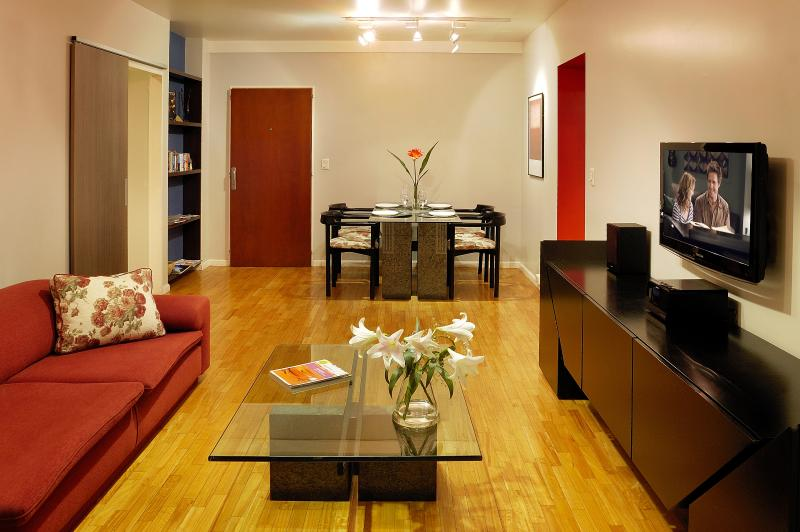 Caption for Living room to entrance  - THE BEST DEAL! 1 BR In the Heart of Recoleta - Buenos Aires - rentals