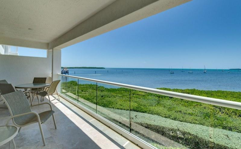 View from terrace - Infinite horizons...322 Mariners Club Key Largo - Key Largo - rentals