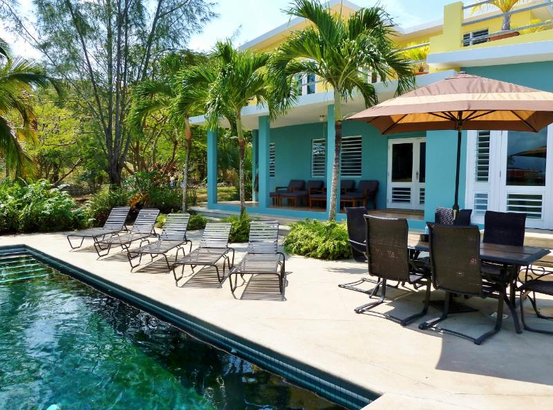 Welcome to our tropical Paradise! - Casa Tolteca-Stylish Modern Villa w/Pool and Views - Isla de Vieques - rentals