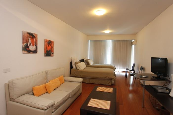 Sunny 3rd-Floor Studio w/ Wi-Fi, Balcony, Pool, Doorman & More (ID#35) - Image 1 - Buenos Aires - rentals
