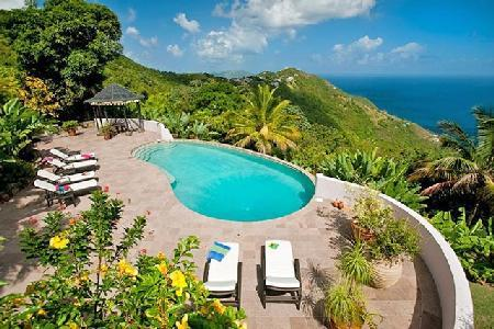 Canefield House - Enchanting house boasts glorious gardens, pool & expansive setting - Image 1 - Tortola - rentals