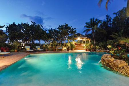 Soleil Couchant - Beachfront villa offers pool, spectacular sunsets & tropical elegance - Image 1 - Terres Basses - rentals