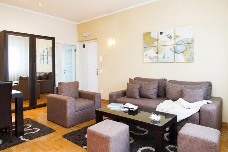 2 Bedroom Apt @SKADARLIJA   6 people   Best deal! - Image 1 - Belgrade - rentals