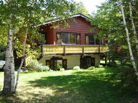 Chalet 487 with outdoor spa - Cottage #487 with outdoor spa, lake & beach access - Mont Tremblant - rentals